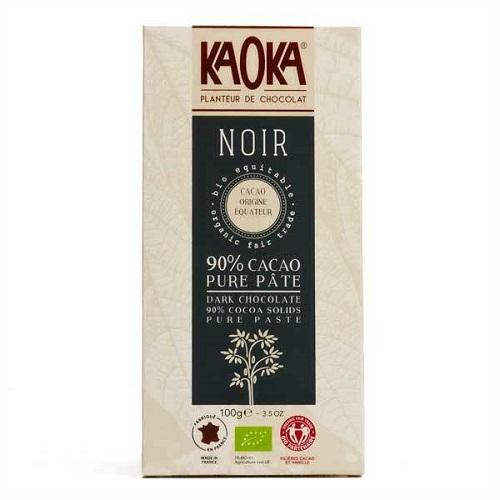 Chokolade-økologisk-90 procent mørk Ecuador-KAOKA