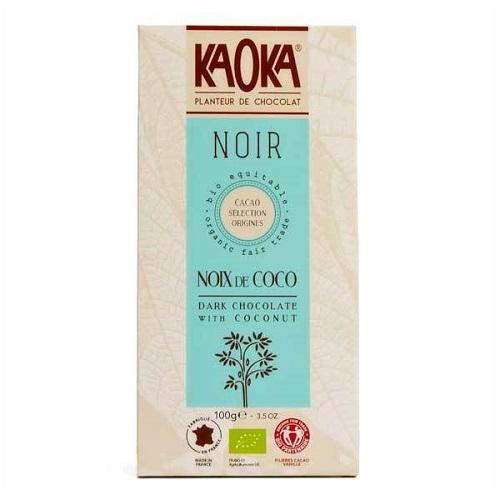 Chokolade-økologisk-kokos 55 procent mørk-KAOKA