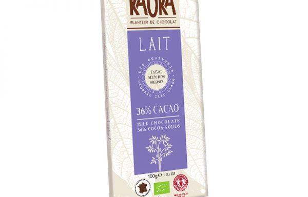 Mælkechokolade med 36% kakao