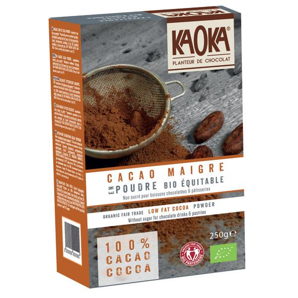 Kaoka Mælkechokolade økologisk fairtrade kakaopulver 10%