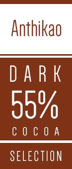 Anthikao moerk chokolade 55 procent Kaoka - Chkofair