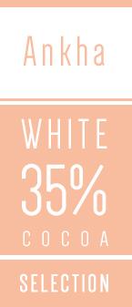 Hvid overtraekschokolade 35 procent Kaoka - Chokofair